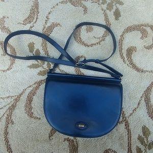 Bally vintage Black Leather Small Shoulder Bag